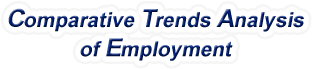 Louisiana - Comparative Trends Analysis of Total Employment, 1969-2015